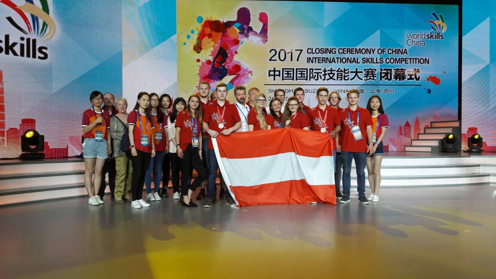 China International Skills Competition 2017 © SkillsAustria